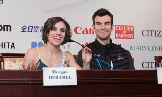 Meagan Duhamel and Eric Radford: We want to push the sport forward