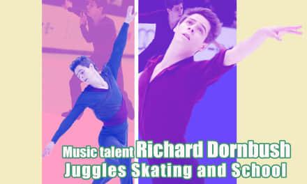 Music Talent Richard Dornbush Juggles Skating and School