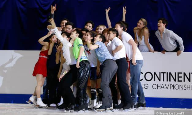 2016四大洲花样滑冰锦标赛表演滑相册