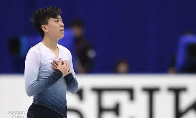 Vincent Zhou proud of his fight despite injury